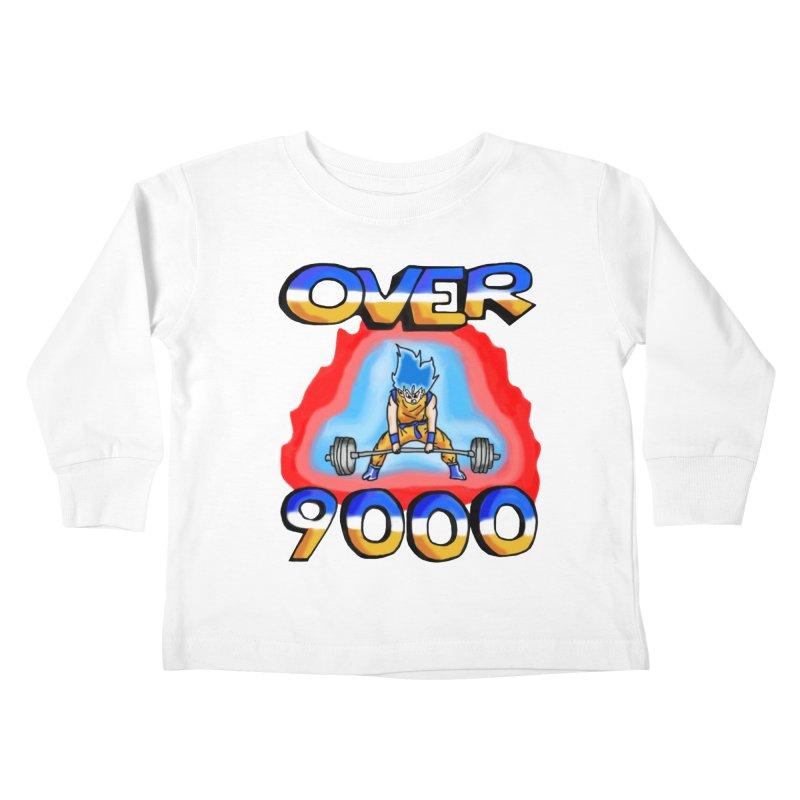 Over 9000 Kids Toddler Longsleeve T-Shirt by Break The Bar