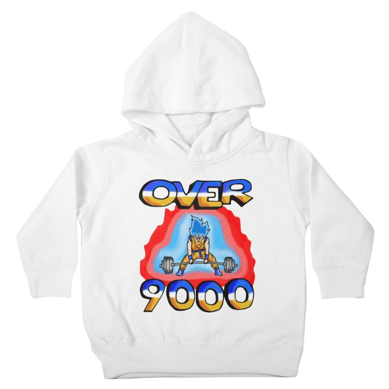 Over 9000 Kids Toddler Pullover Hoody by Break The Bar