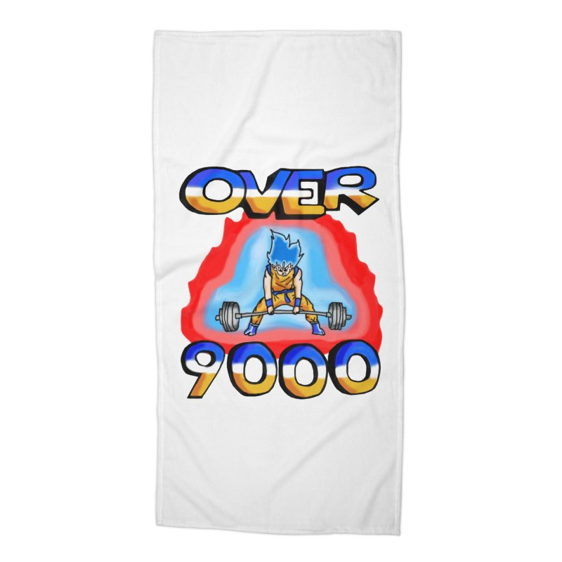 Over 9000 Accessories Beach Towel by Break The Bar