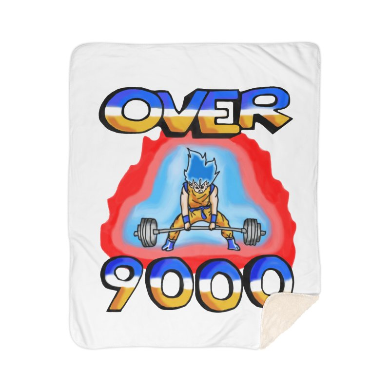 Over 9000 Home Blanket by Break The Bar