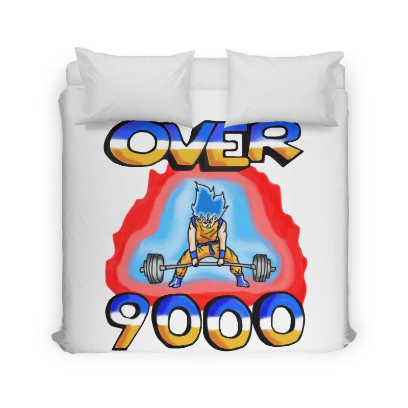 Over 9000 Home Duvet by Break The Bar