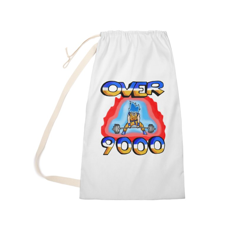 Over 9000 Accessories Bag by Break The Bar
