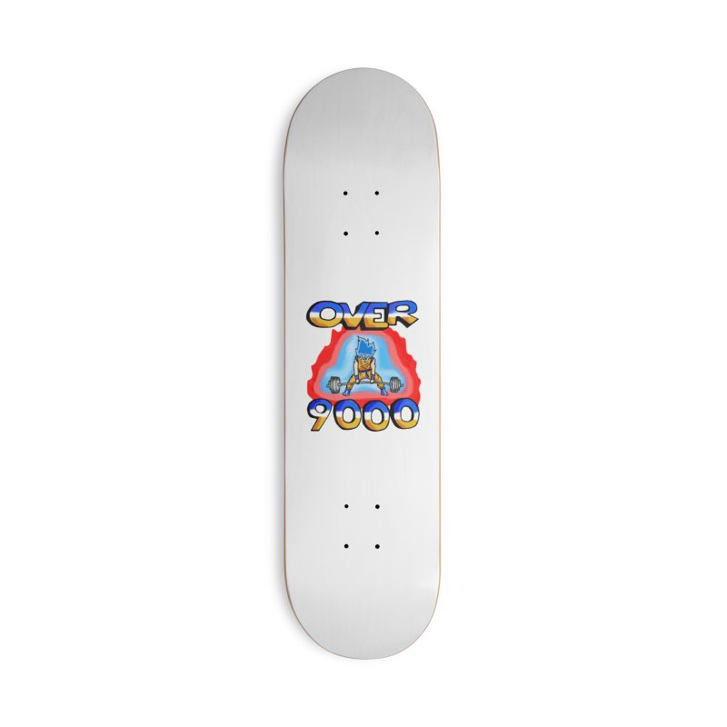 Over 9000 Accessories Deck Only Skateboard by Break The Bar