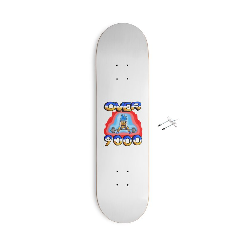 Over 9000 Accessories With Hanging Hardware Skateboard by Break The Bar
