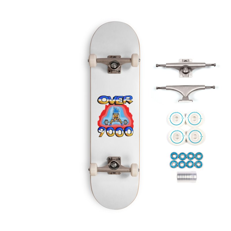 Over 9000 Accessories Complete - Basic Skateboard by Break The Bar