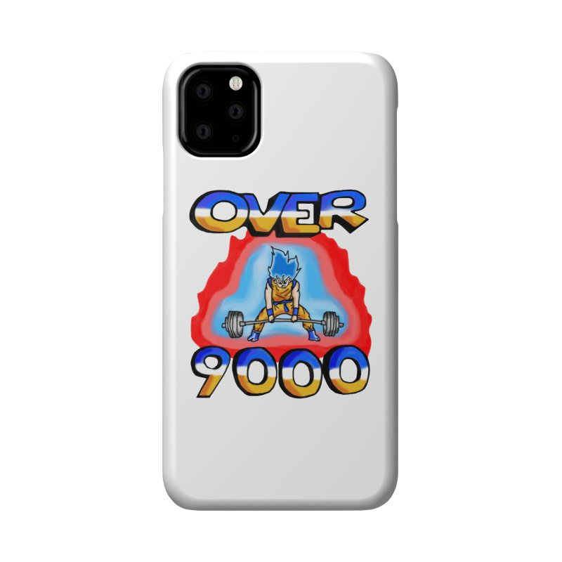 Over 9000 Accessories Phone Case by Break The Bar