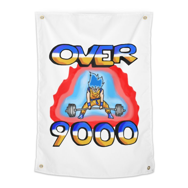 Over 9000 Home Tapestry by Break The Bar