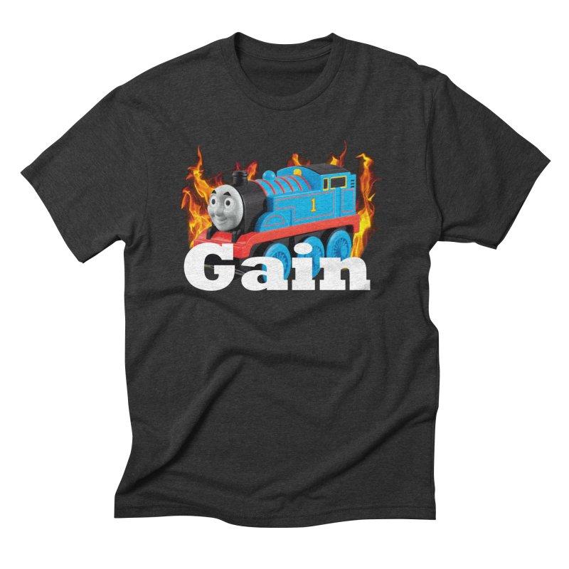 Gain Train Men's T-Shirt by Break The Bar
