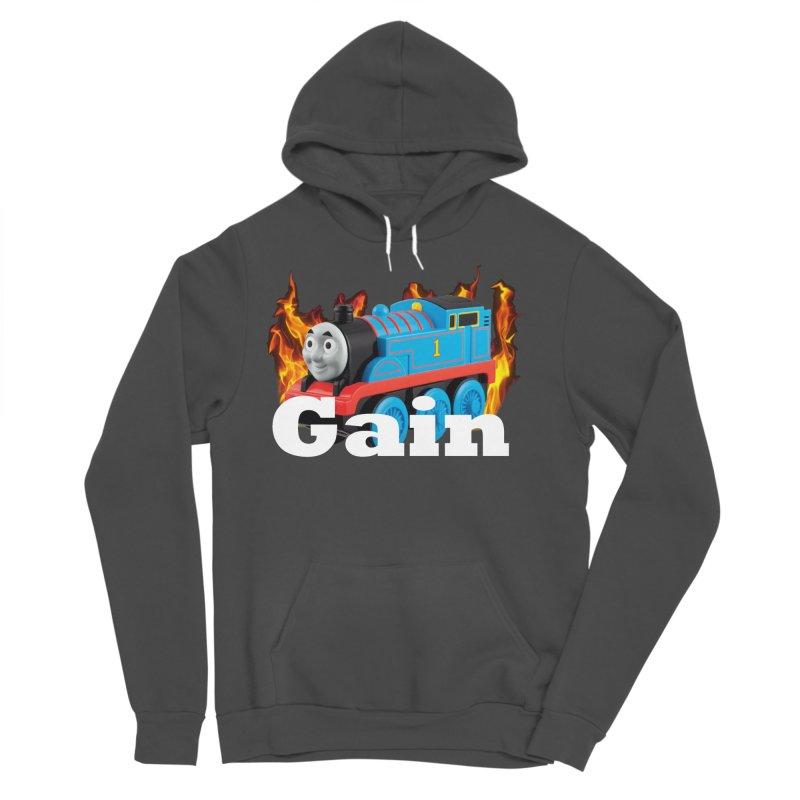 Gain Train Men's Sponge Fleece Pullover Hoody by Break The Bar
