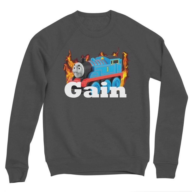 Gain Train Men's Sponge Fleece Sweatshirt by Break The Bar