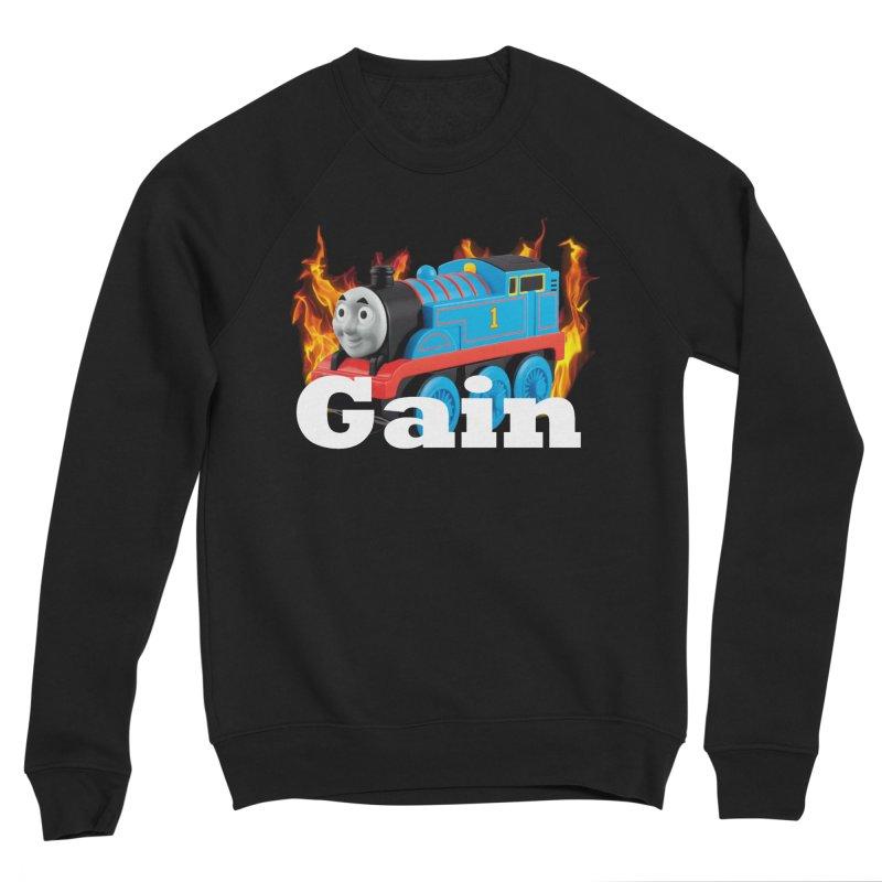 Gain Train Men's Sweatshirt by Break The Bar