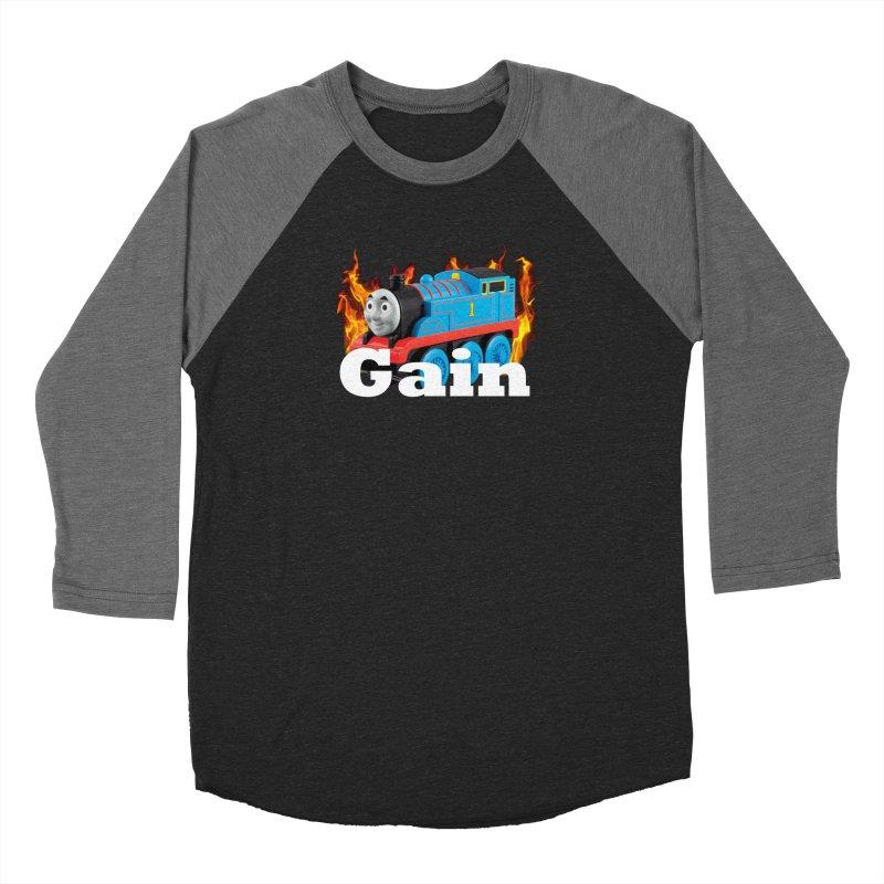 Gain Train Women's Longsleeve T-Shirt by Break The Bar