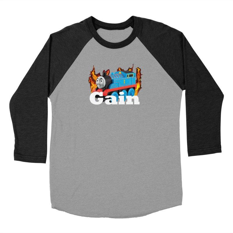 Gain Train Men's Longsleeve T-Shirt by Break The Bar
