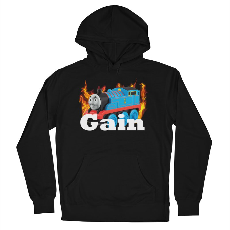 Gain Train Women's French Terry Pullover Hoody by Break The Bar