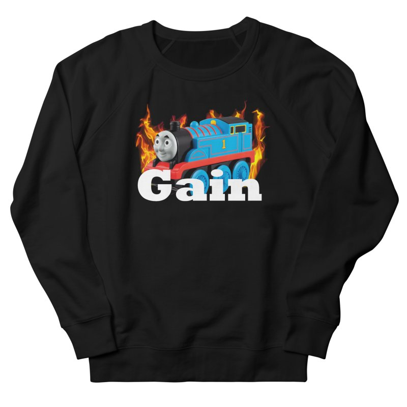 Gain Train Women's French Terry Sweatshirt by Break The Bar