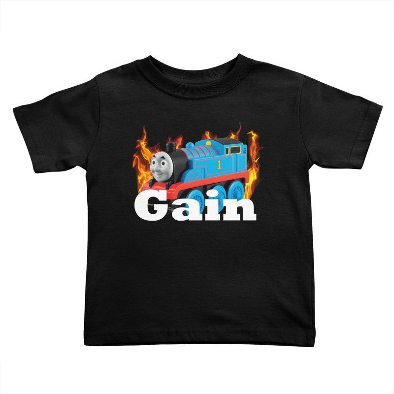 Gain Train Kids Toddler T-Shirt by Break The Bar