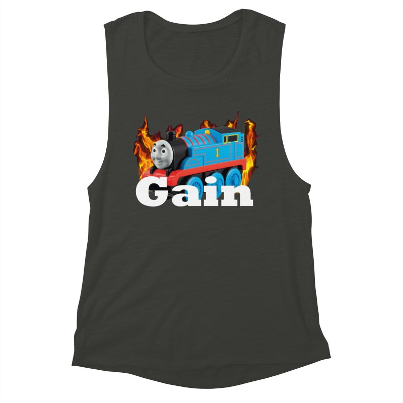 Gain Train Women's Muscle Tank by Break The Bar