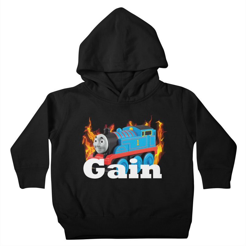 Gain Train Kids Toddler Pullover Hoody by Break The Bar