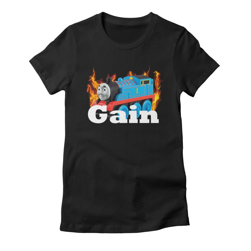 Gain Train Women's Fitted T-Shirt by Break The Bar