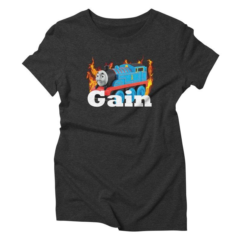 Gain Train Women's T-Shirt by Break The Bar