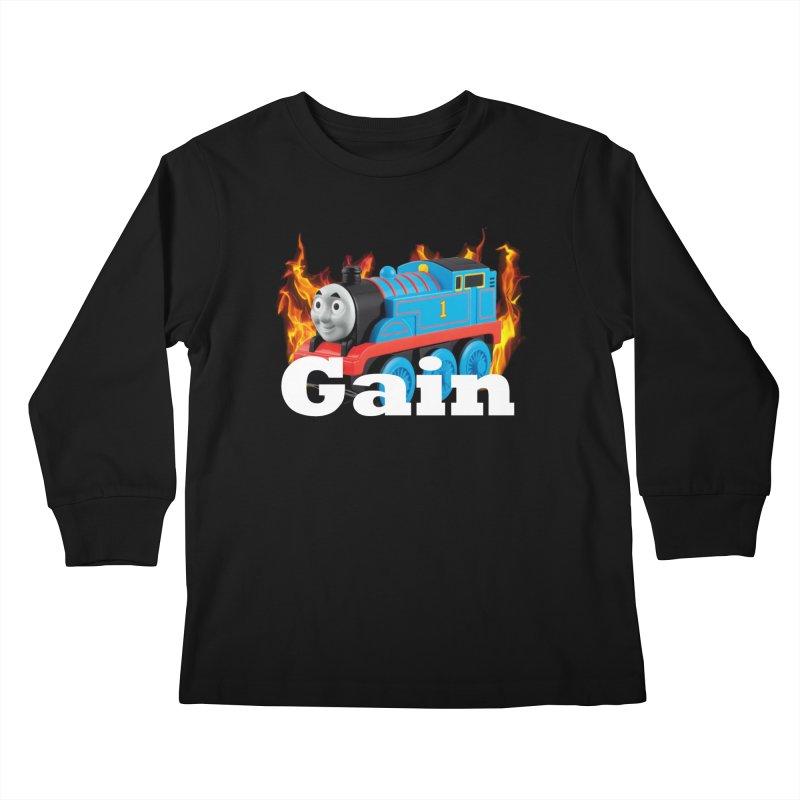 Gain Train Kids Longsleeve T-Shirt by Break The Bar
