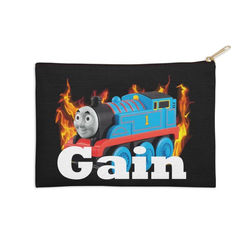 Gain Train Accessories Zip Pouch by Break The Bar