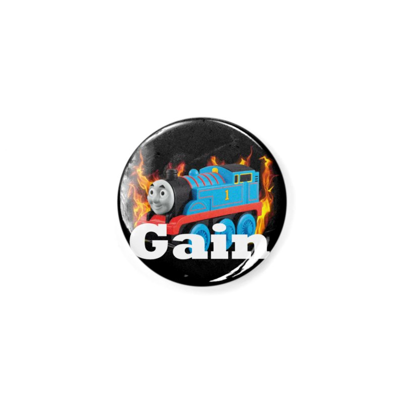 Gain Train Accessories Button by Break The Bar