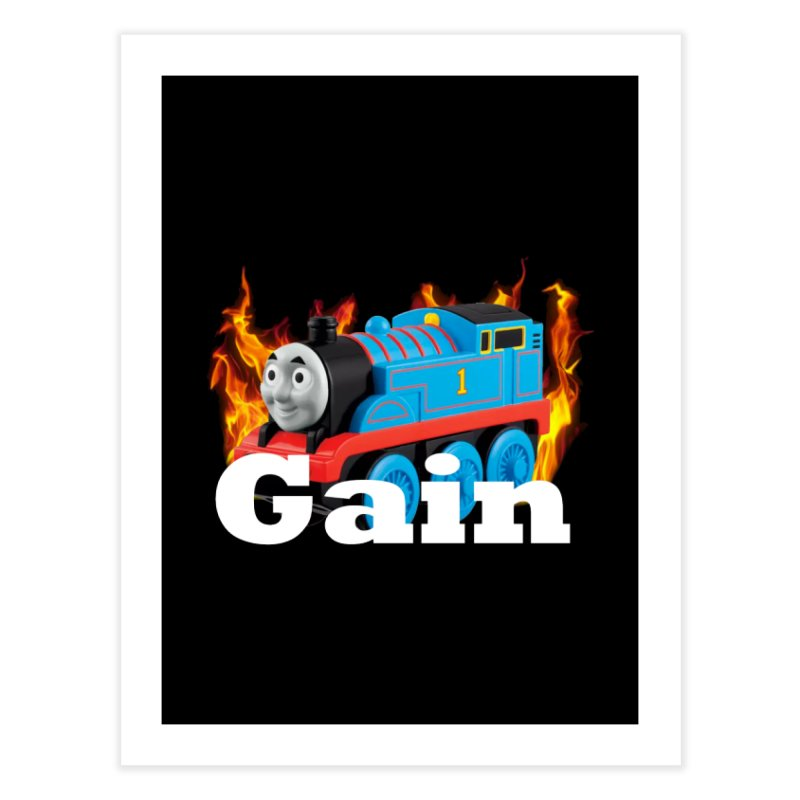 Gain Train Home Fine Art Print by Break The Bar