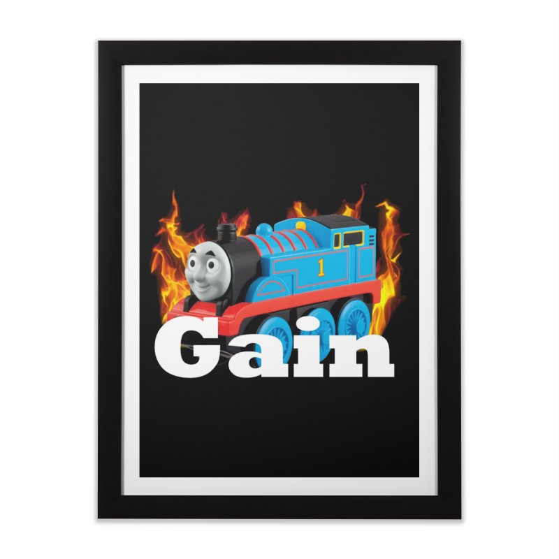 Gain Train Home Framed Fine Art Print by Break The Bar