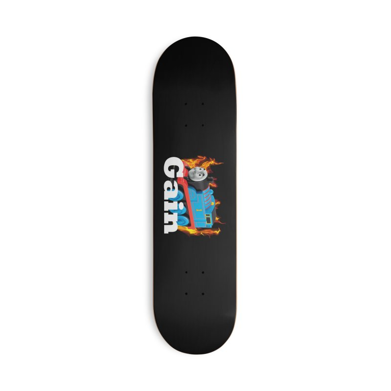 Gain Train Accessories Deck Only Skateboard by Break The Bar