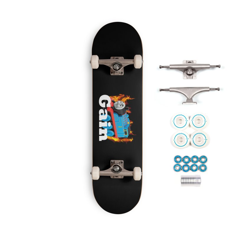 Gain Train Accessories Skateboard by Break The Bar
