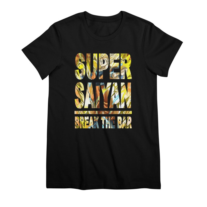 Super Saiyan Women's Premium T-Shirt by Break The Bar