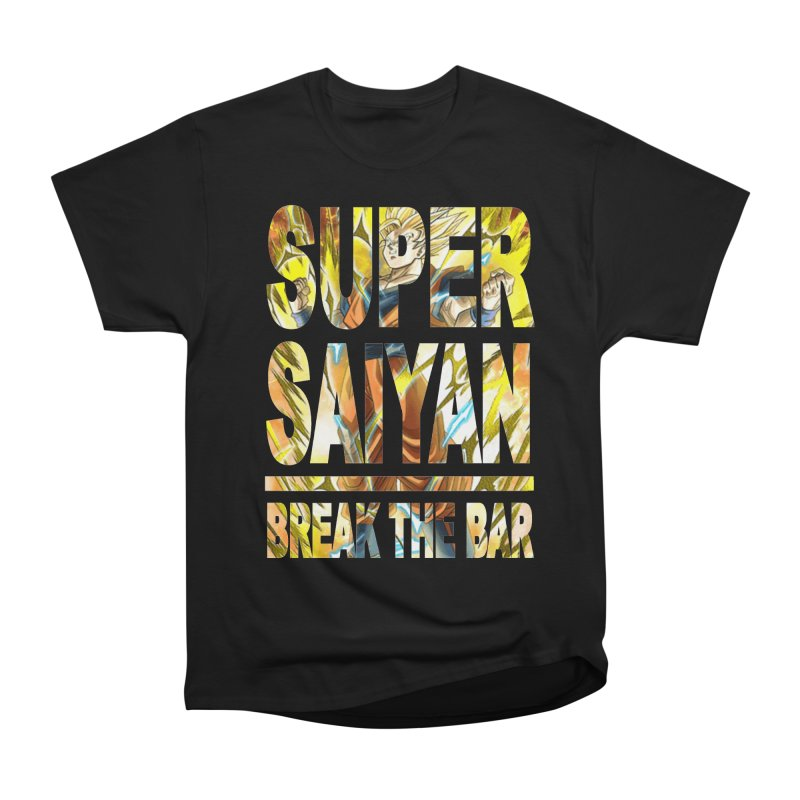 Super Saiyan Women's T-Shirt by Break The Bar