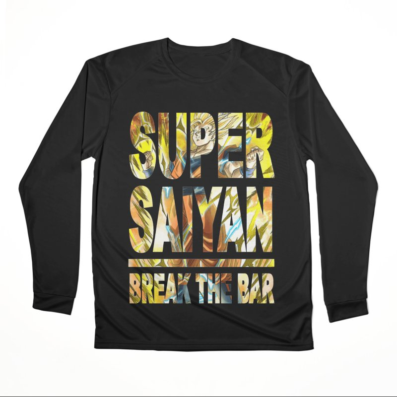 Super Saiyan Men's Performance Longsleeve T-Shirt by Break The Bar