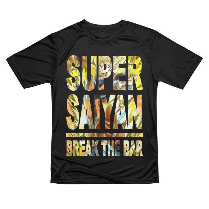 Super Saiyan Women's Performance Unisex T-Shirt by Break The Bar