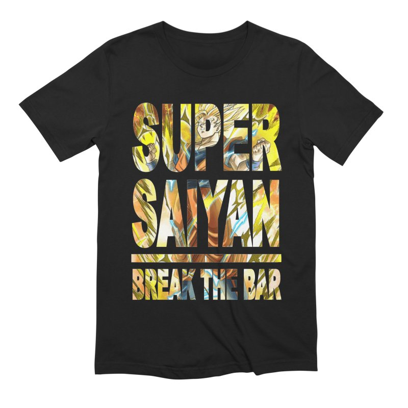 Super Saiyan Men's Extra Soft T-Shirt by Break The Bar