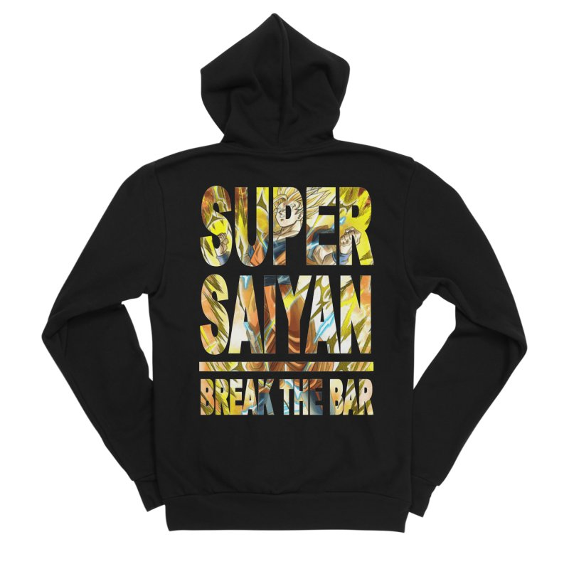 Super Saiyan Men's Zip-Up Hoody by Break The Bar