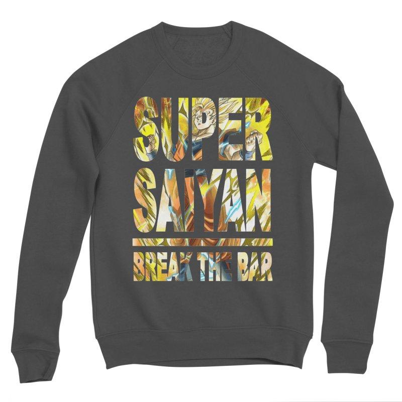 Super Saiyan Men's Sponge Fleece Sweatshirt by Break The Bar