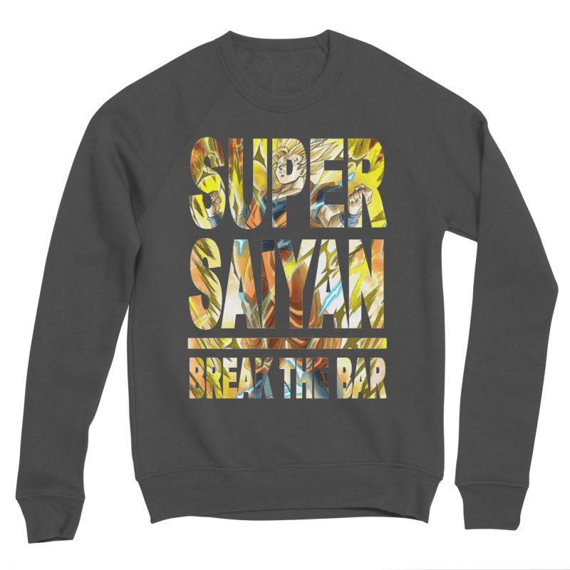 Super Saiyan Women's Sponge Fleece Sweatshirt by Break The Bar