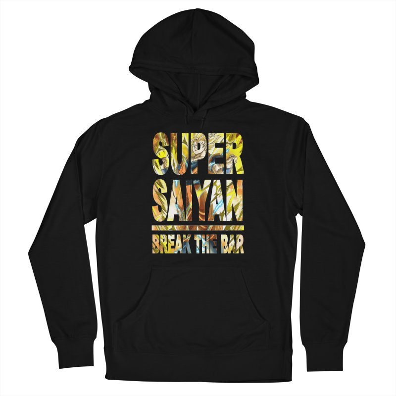 Super Saiyan Women's French Terry Pullover Hoody by Break The Bar