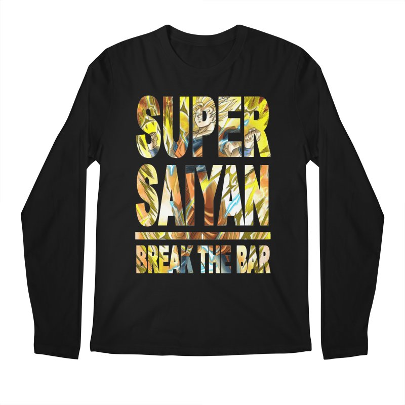 Super Saiyan Men's Regular Longsleeve T-Shirt by Break The Bar