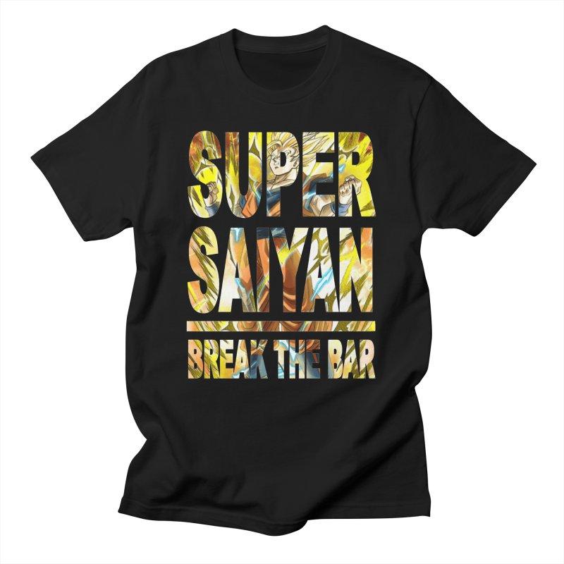 Super Saiyan Men's T-Shirt by Break The Bar