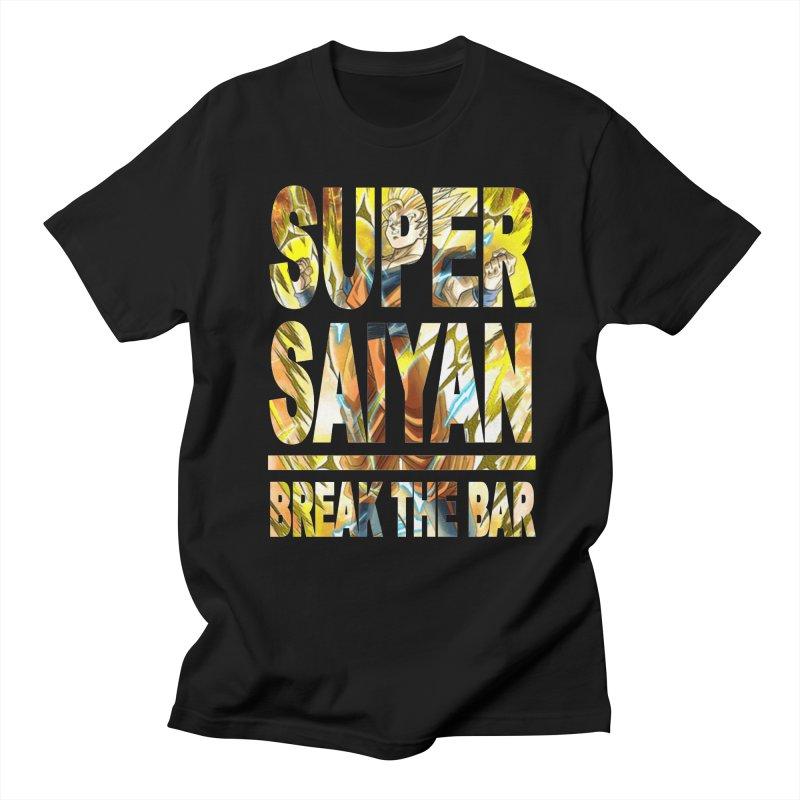 Super Saiyan Women's Regular Unisex T-Shirt by Break The Bar