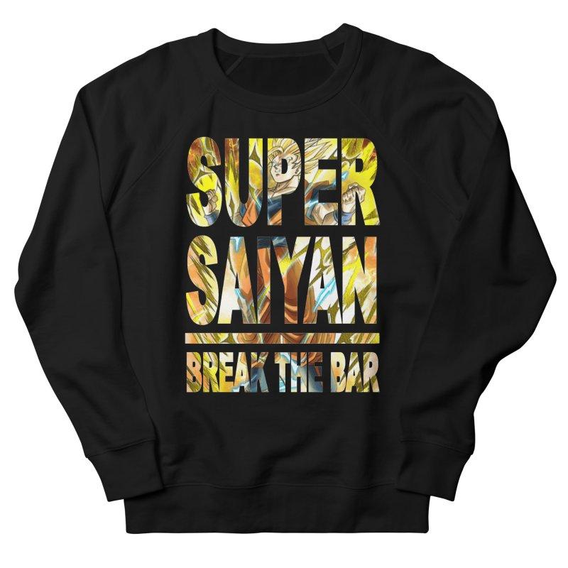 Super Saiyan Men's Sweatshirt by Break The Bar