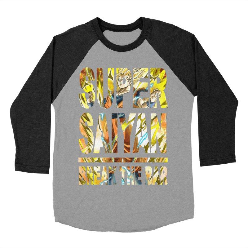 Super Saiyan Women's Baseball Triblend Longsleeve T-Shirt by Break The Bar