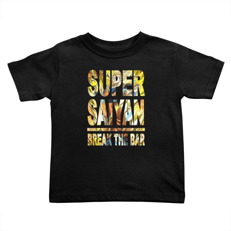 Super Saiyan Kids Toddler T-Shirt by Break The Bar