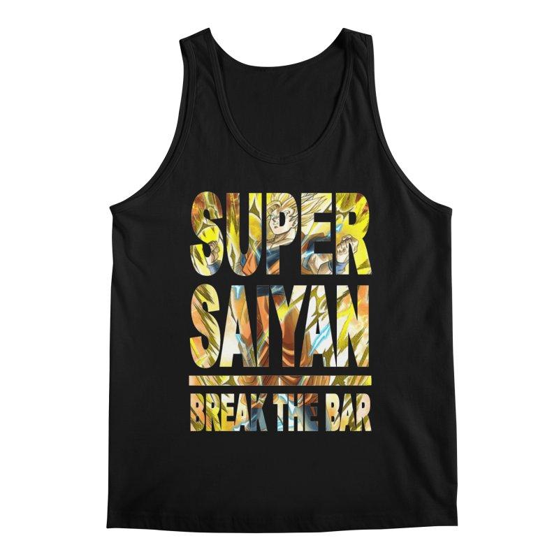 Super Saiyan Men's Tank by Break The Bar