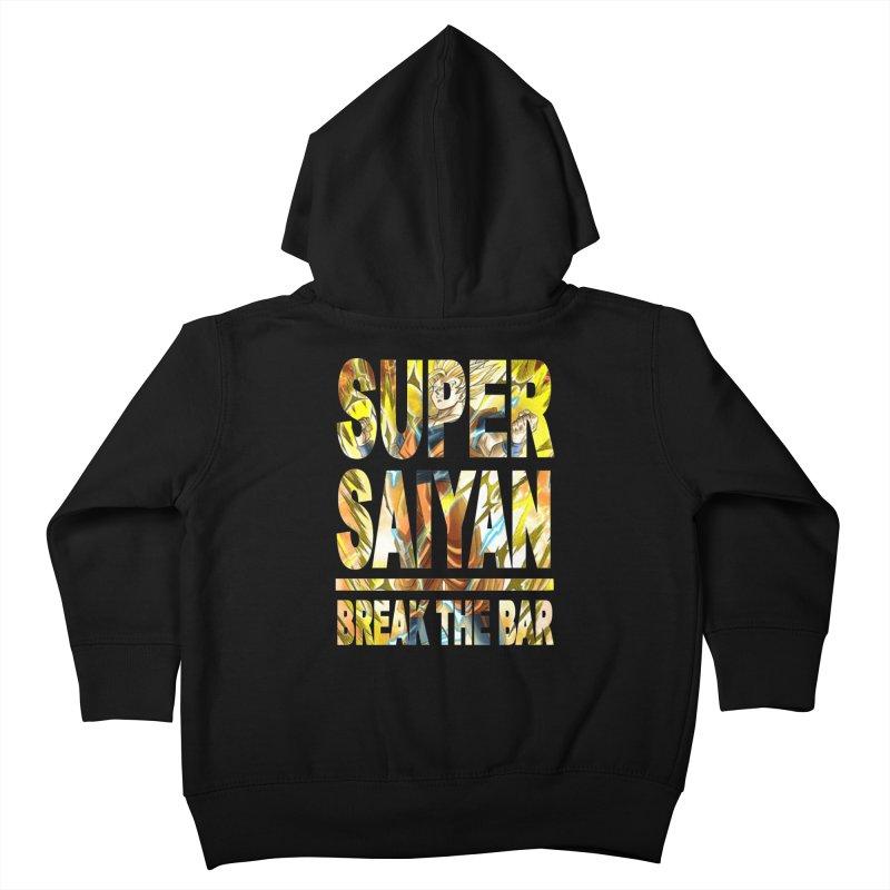 Super Saiyan Kids Toddler Zip-Up Hoody by Break The Bar