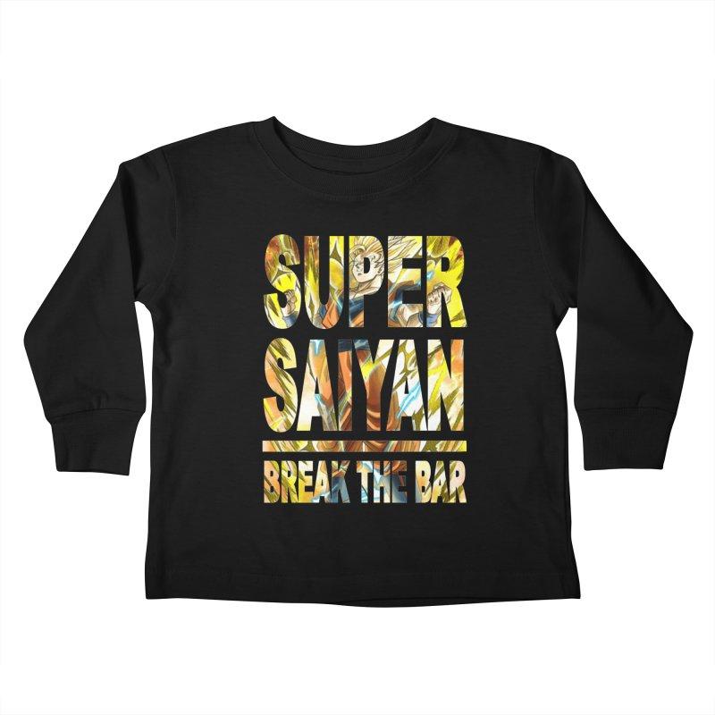 Super Saiyan Kids Toddler Longsleeve T-Shirt by Break The Bar