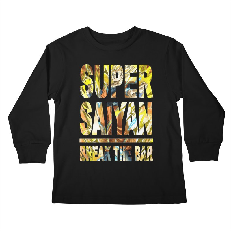 Super Saiyan Kids Longsleeve T-Shirt by Break The Bar